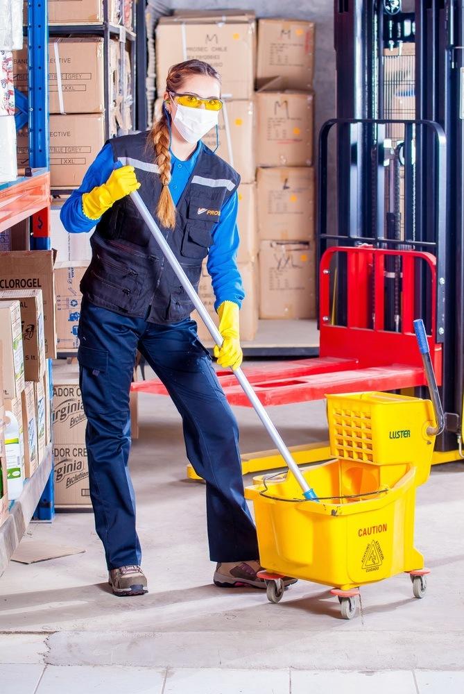 Få fjernet byggestøvet med en håndværkerrengøring